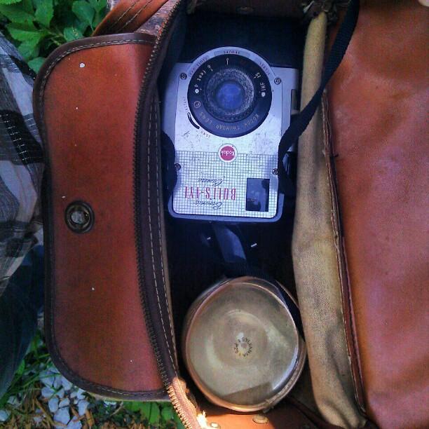 #antique #classic #kodak #camera (Taken with  instagram )