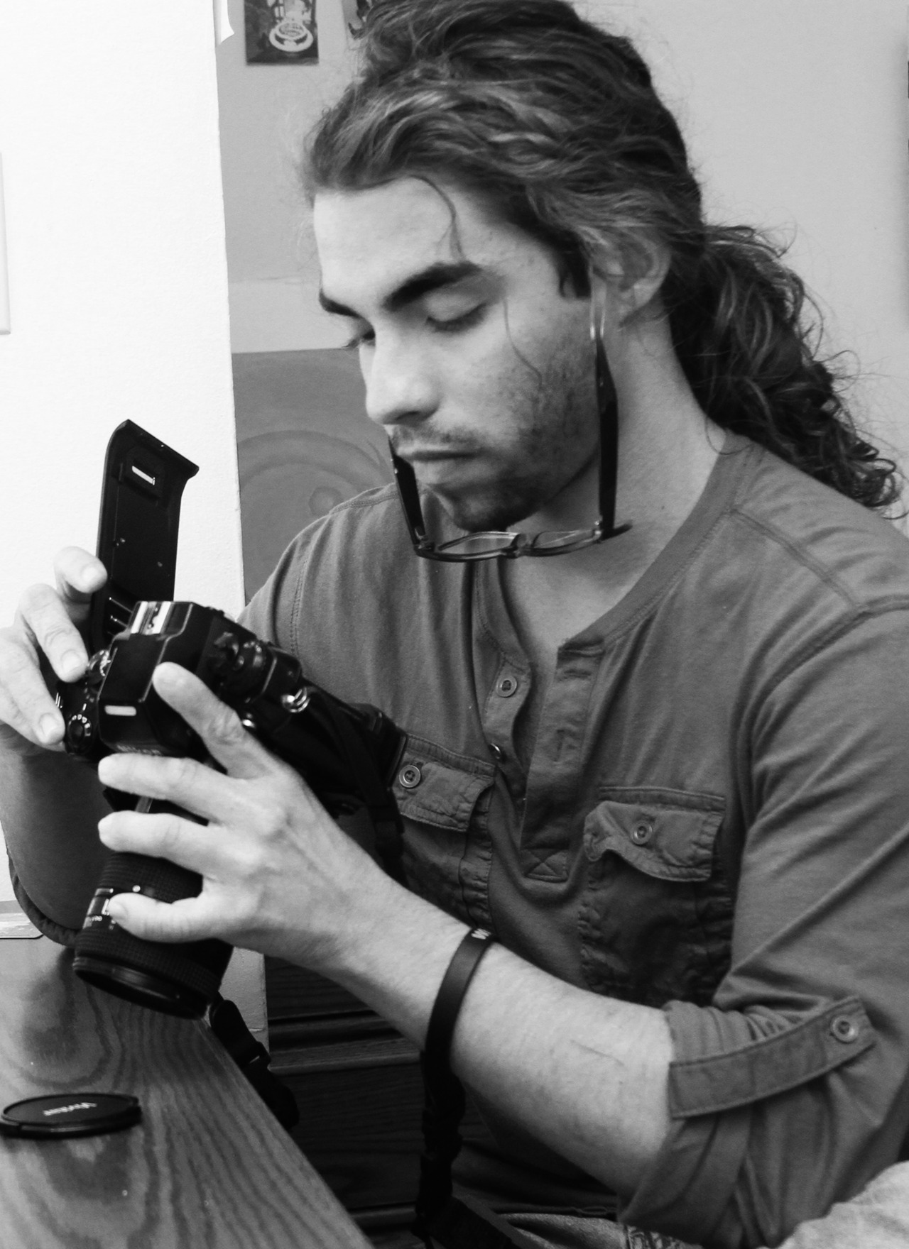 My Old Photography Classmate! He's gonna be a big photographer one day. YANNI DEMELO   Remember the NAME!