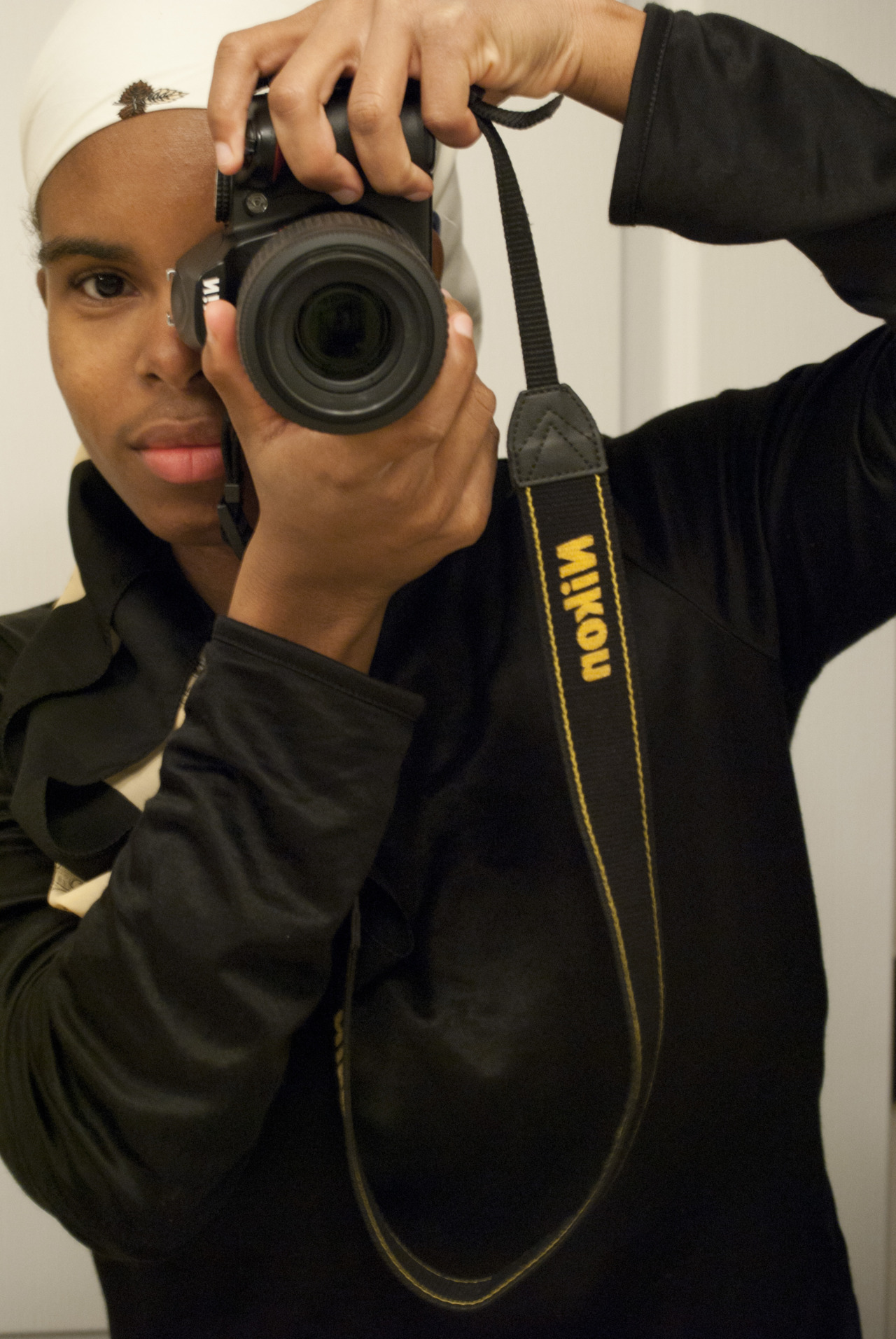 Me experimenting with Self Portraits! :)     Nayyar Photography