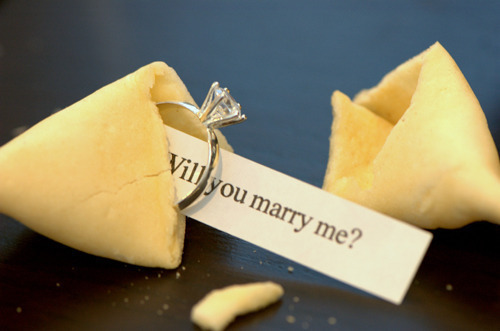 I wish I would find a diamond ring in my fortune cookie! Lol!