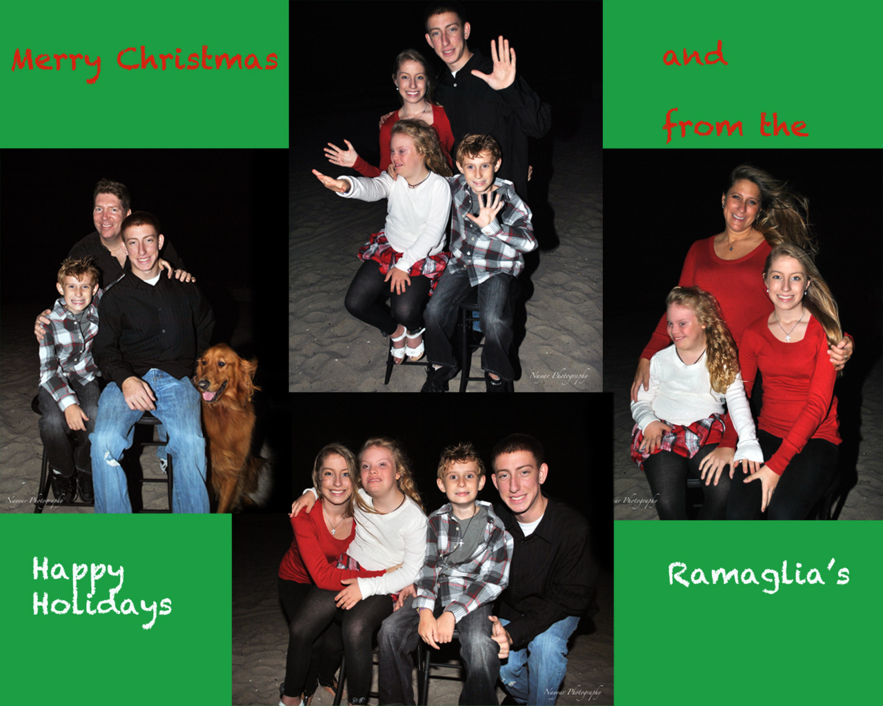 Happy Holidays from the Ramaglia's!