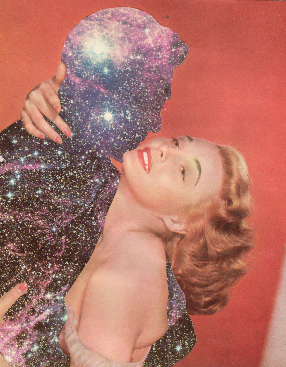 Definitely Cool!    saatchionline :     Antares and Love #2  Collage  by Joe Webb  Lewes, UK  Print:   $20.00