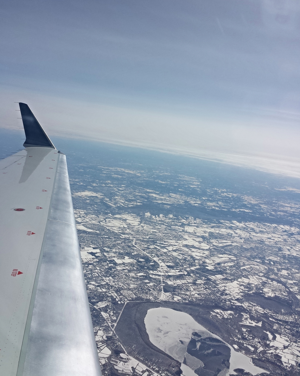 Aerial View of Snow (©Nayyar Photography)
