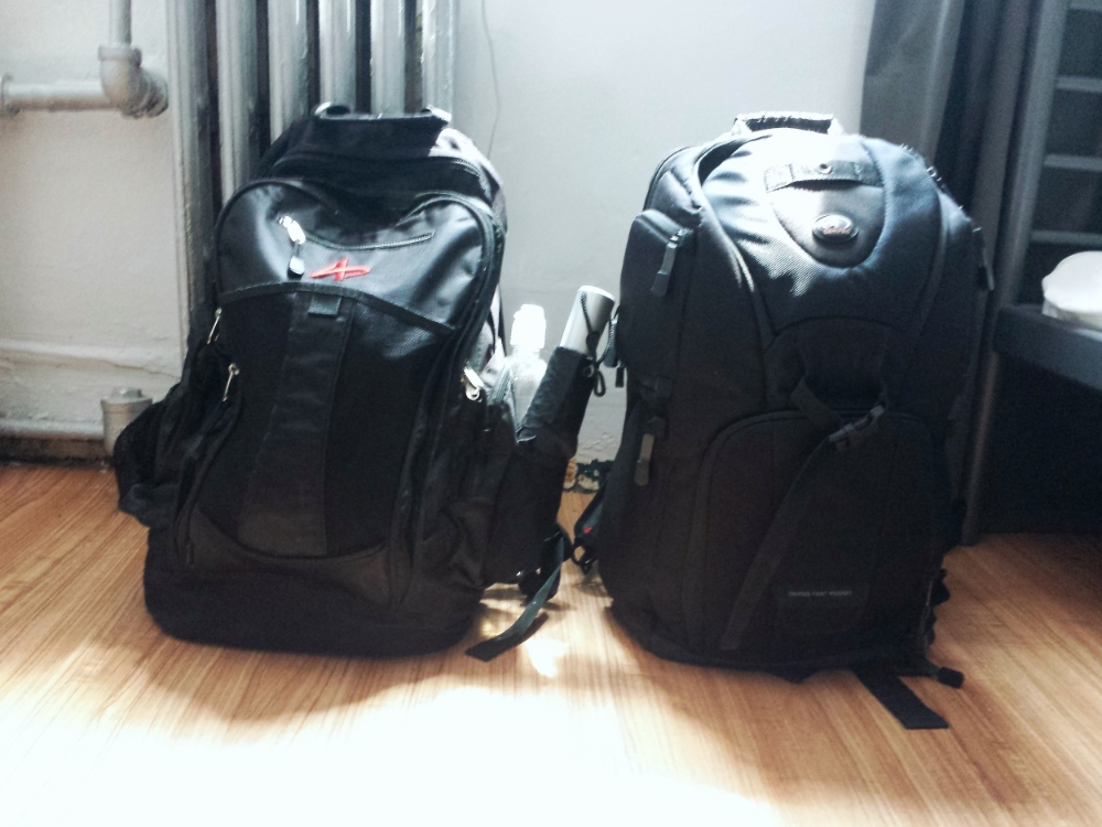 Packed Two Carry On Bags for my 5 day trip | Source ©Nayyar Photography