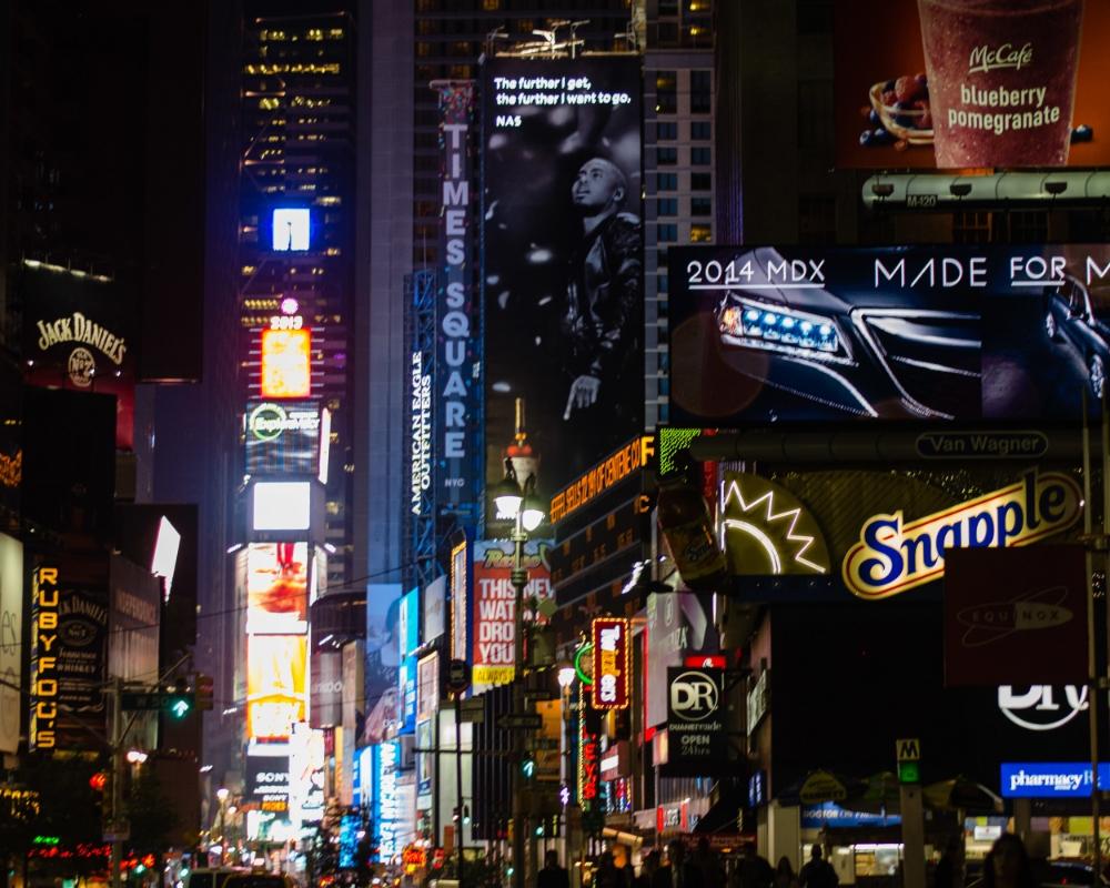 The heart of Times Square | Zaakirah Nayyar | ©Nayyar Photography