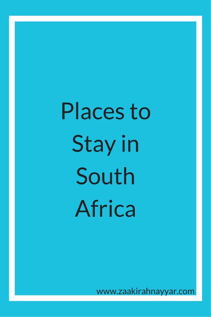 Places to Stay South Africa