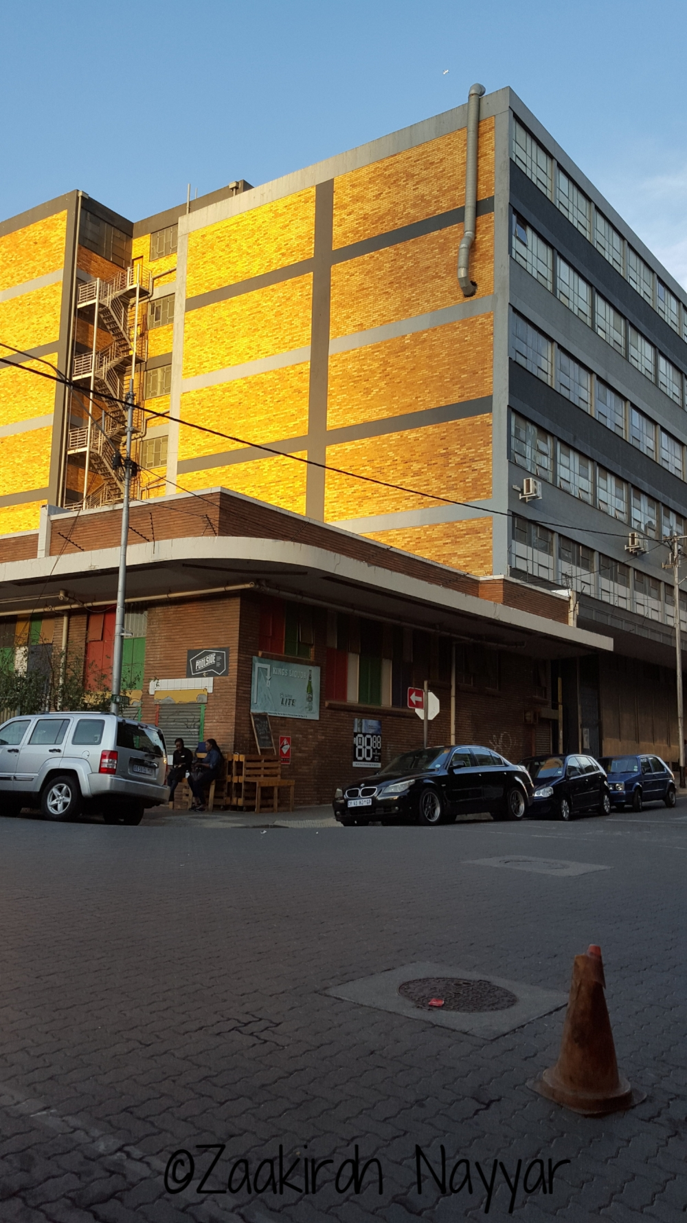 Golden Hour Building in Maboeneng