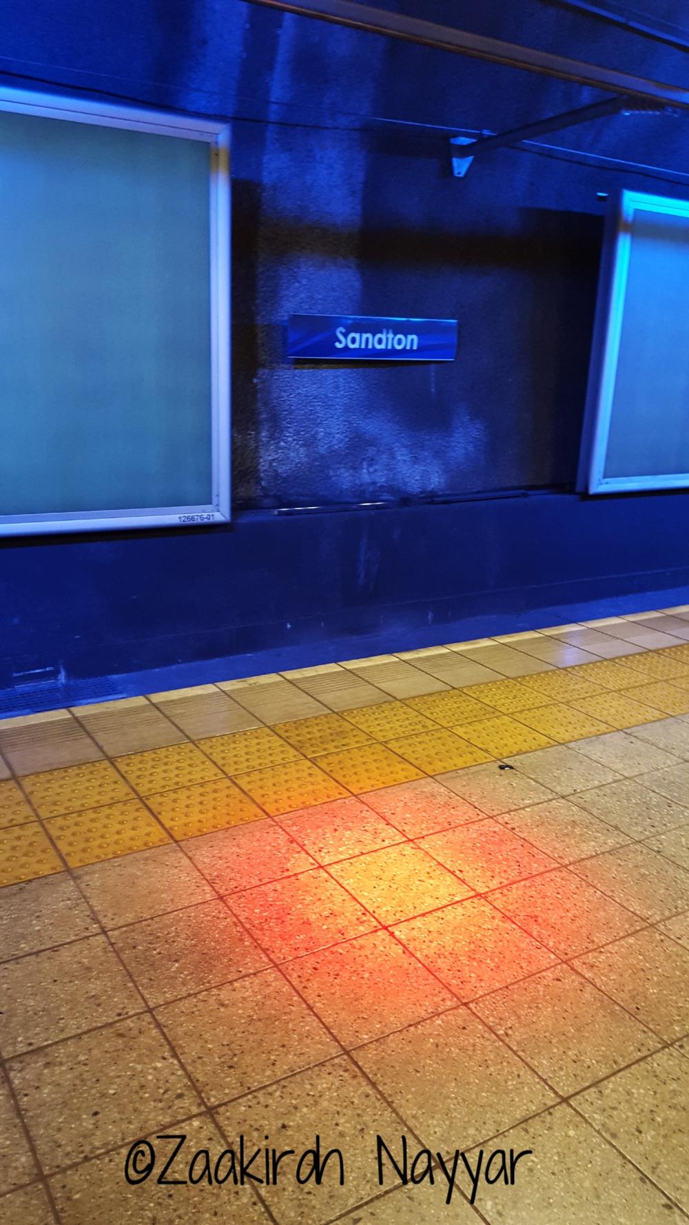 Sandton Gautrain Station