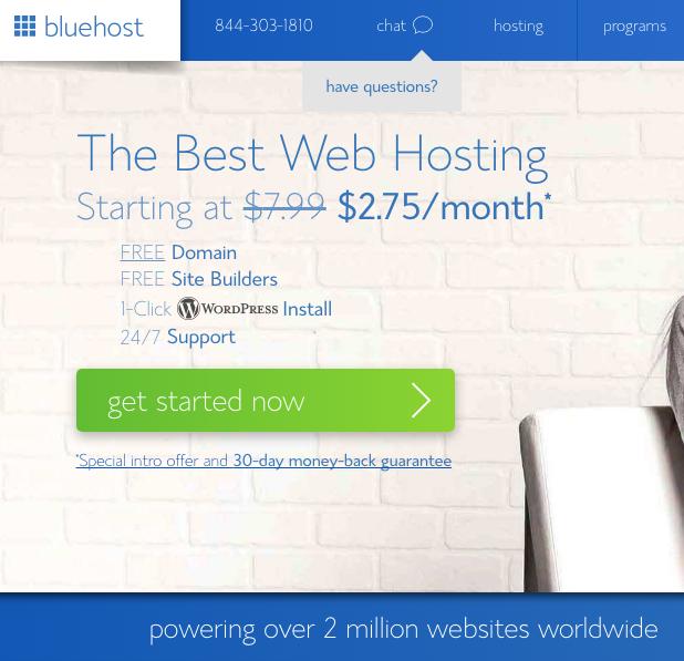 BlueHost | How to Start a Blog | Zaakirah Nayyar