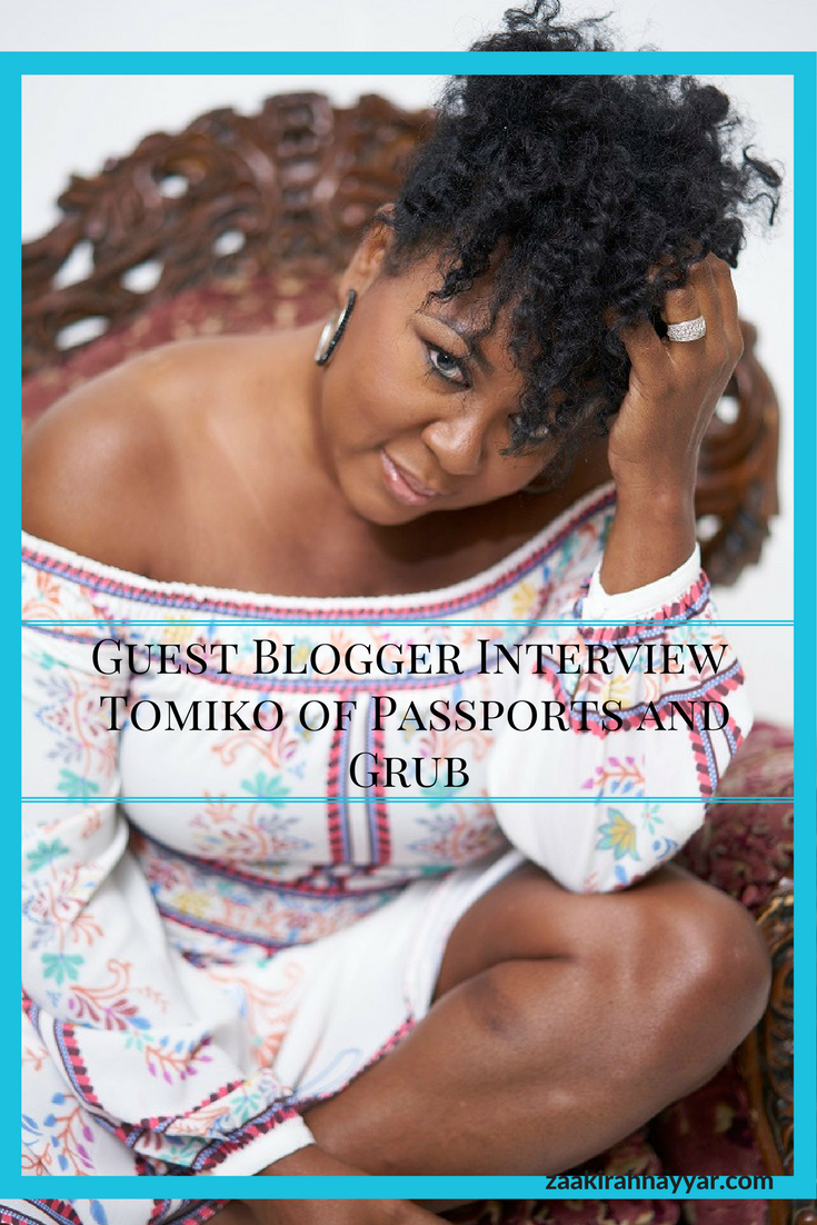 Guest Blogger Interview with Tomiko of Passports and Grub