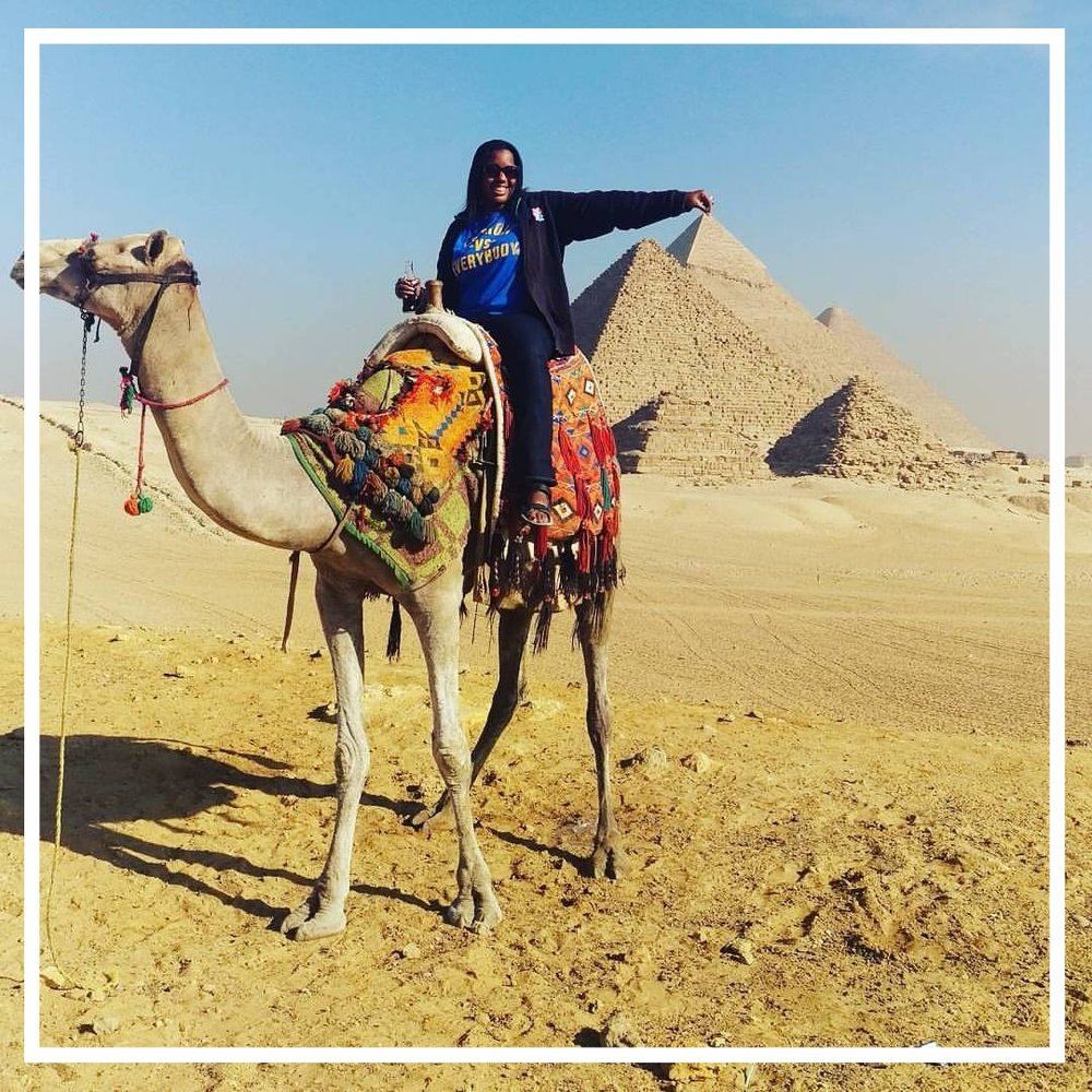 Nicole Brewer Travel Blogger in Egypt