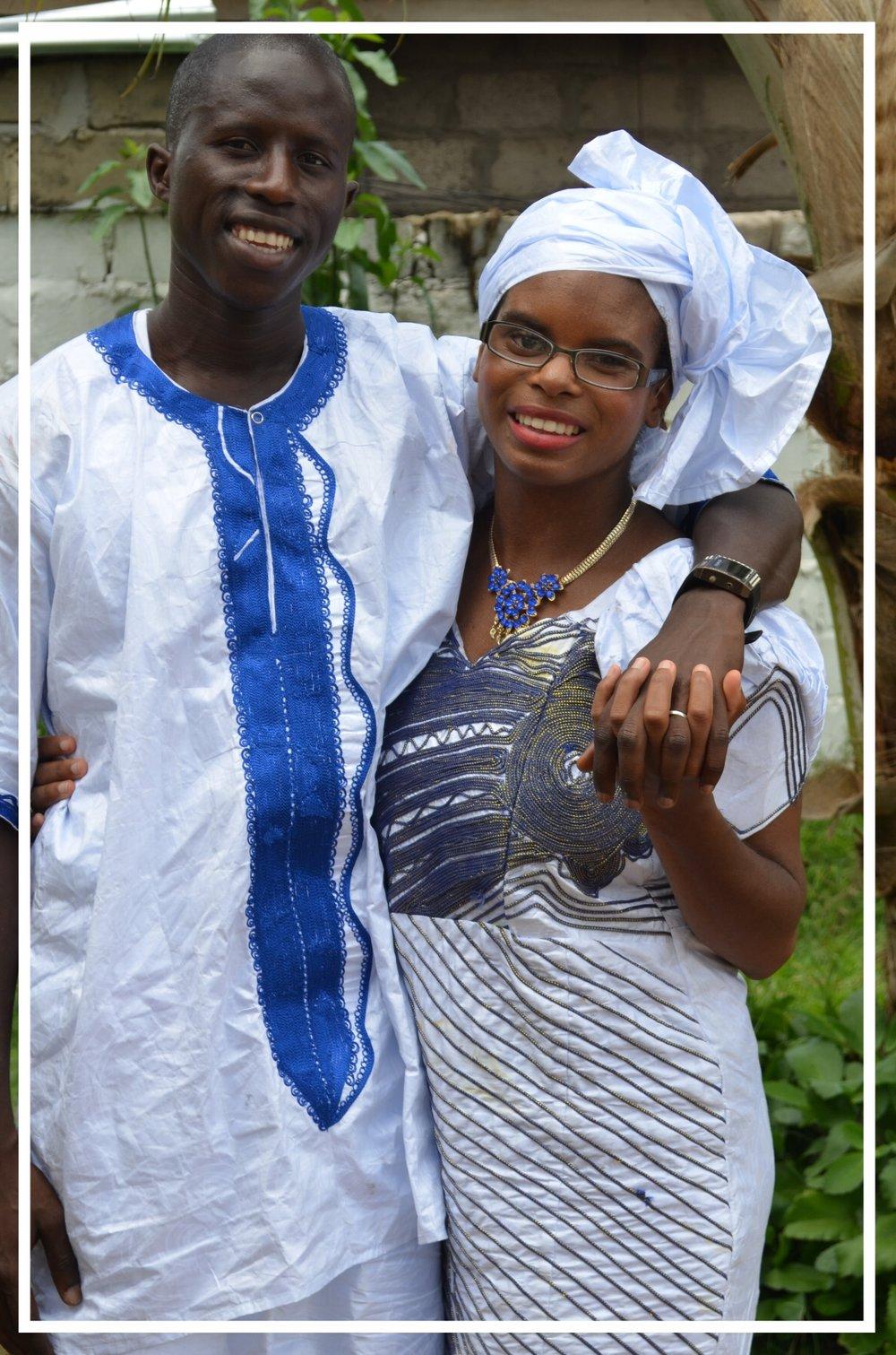 Demba Wedding Marriage Anniversary Picture taken The Gambia | Zaakirah Nayyar