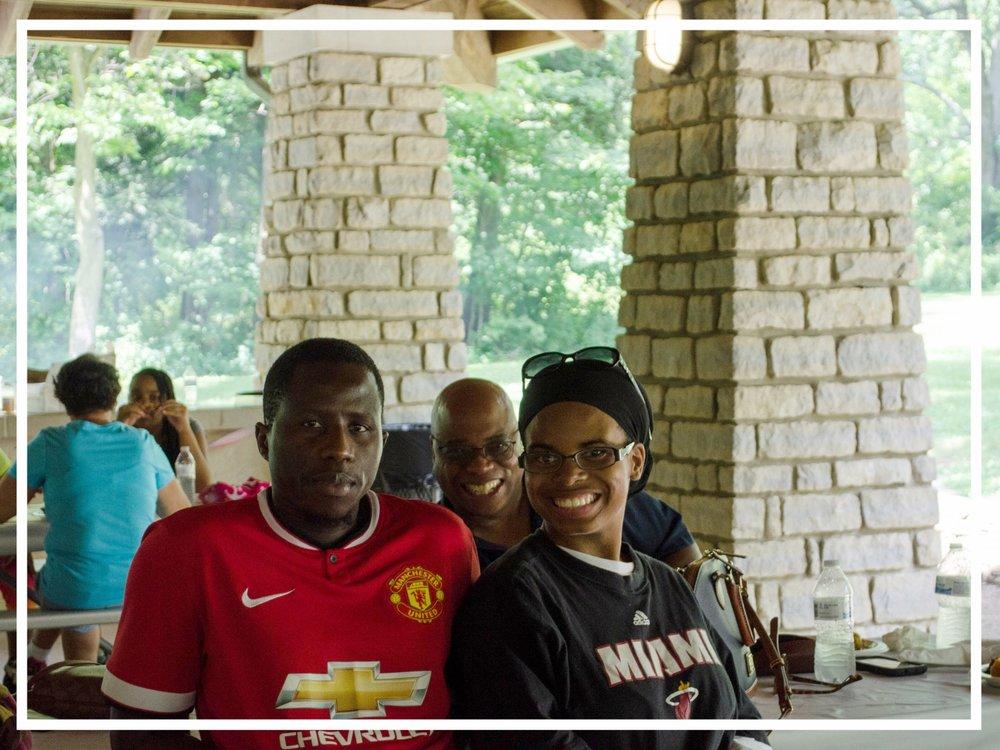 Demba Family Reunion Silly Photo | Zaakirah Nayyar