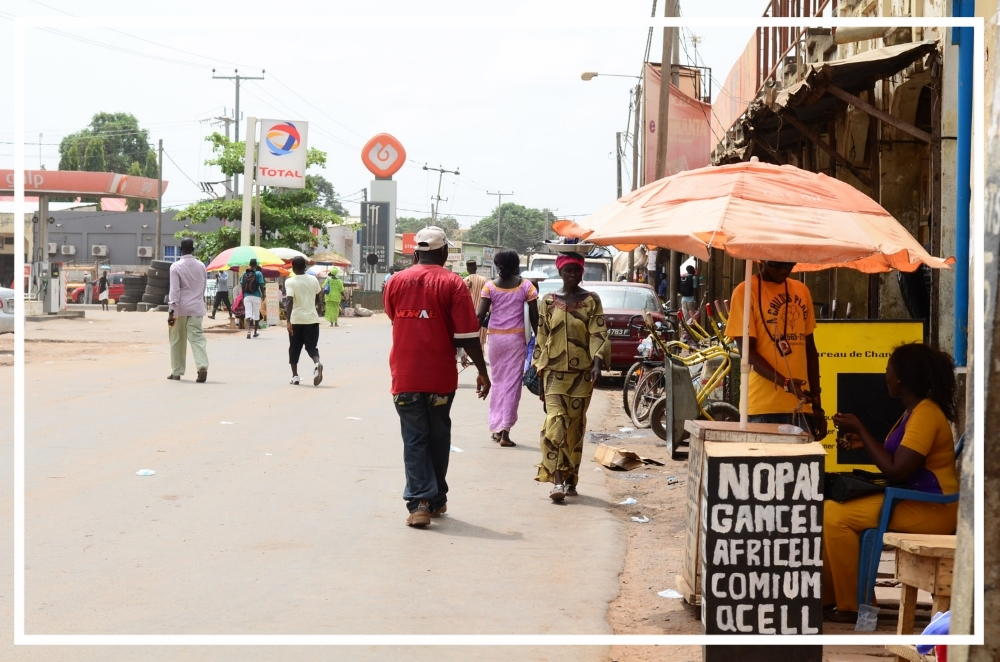The streets of Brikama, The Gambia
