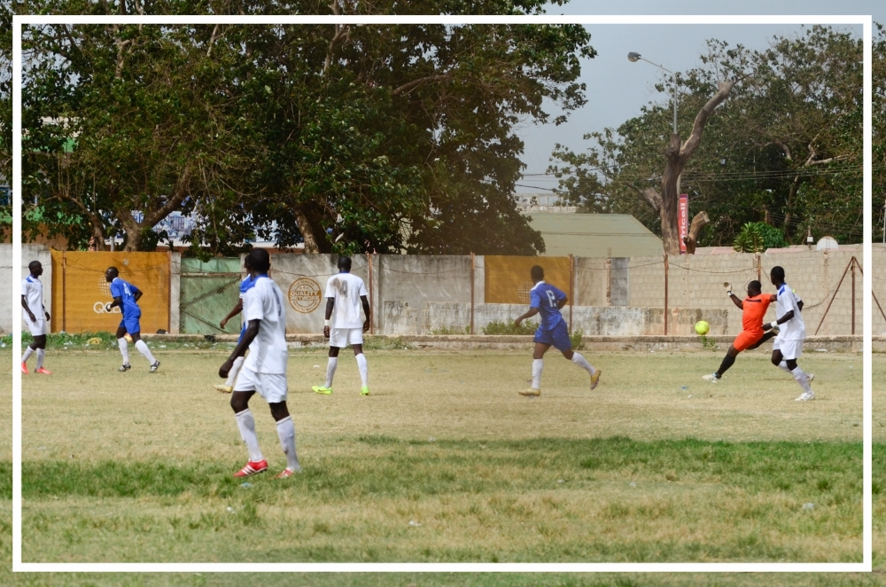 Gambia Aviation Authority Soccer Game