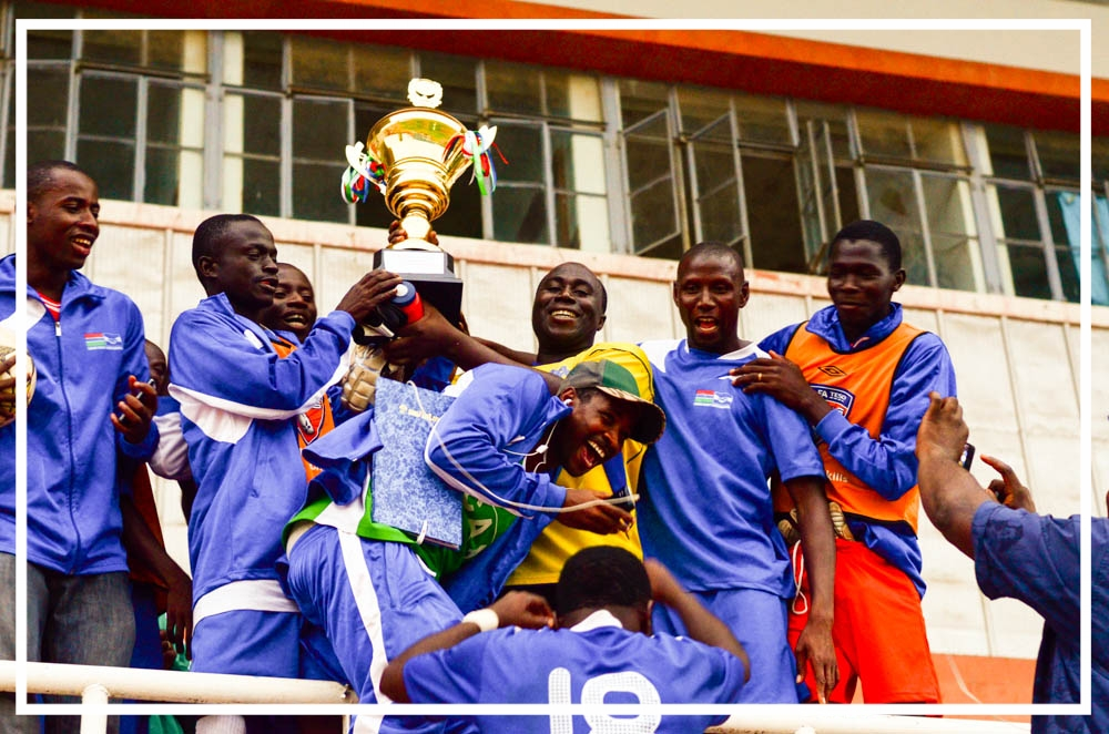 Gambia Civil Aviation Authority Soccer Champions