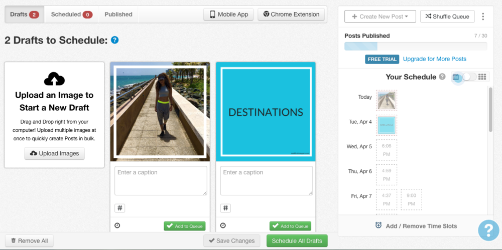 How I Save Time on Instagram and Pinterest with Tailwind