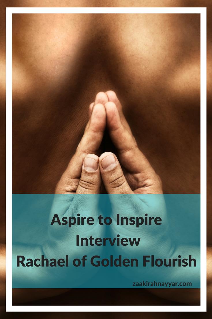 Aspire to Inspire Blogger Interview Golden Flourish Pinterest