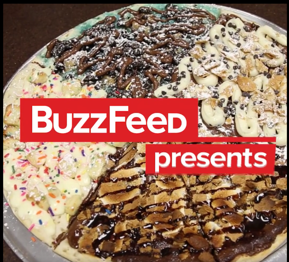 When Pizza And Dessert Become One