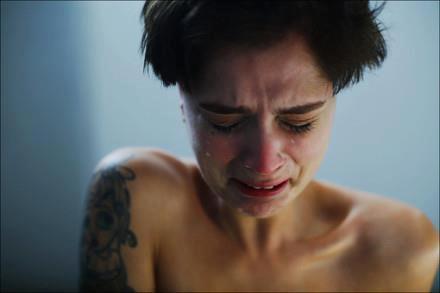 sobbing