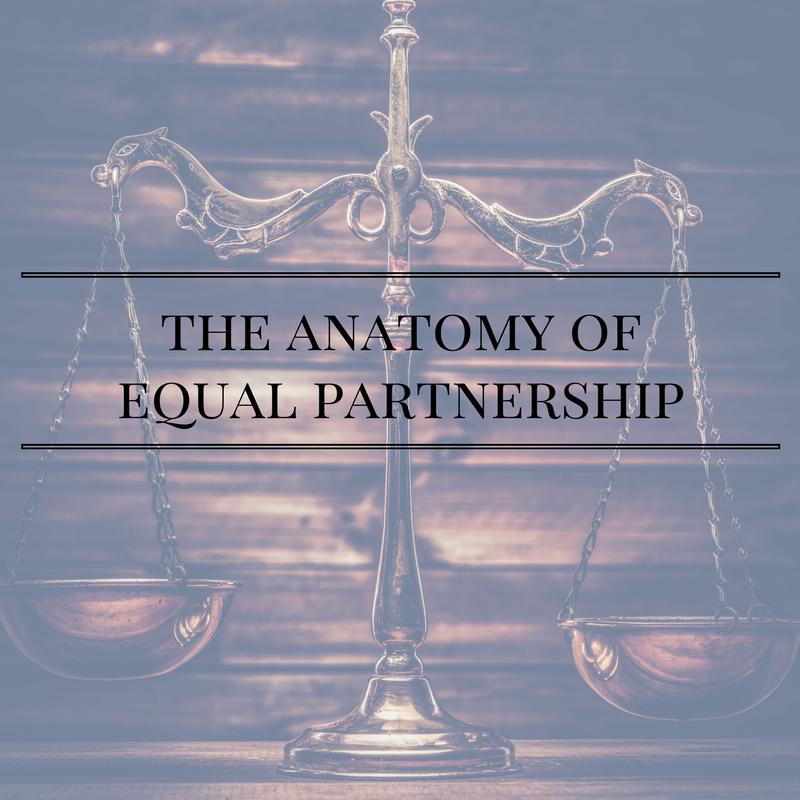 The Anatomy Of Equal Partnership Laura Blair Irwin