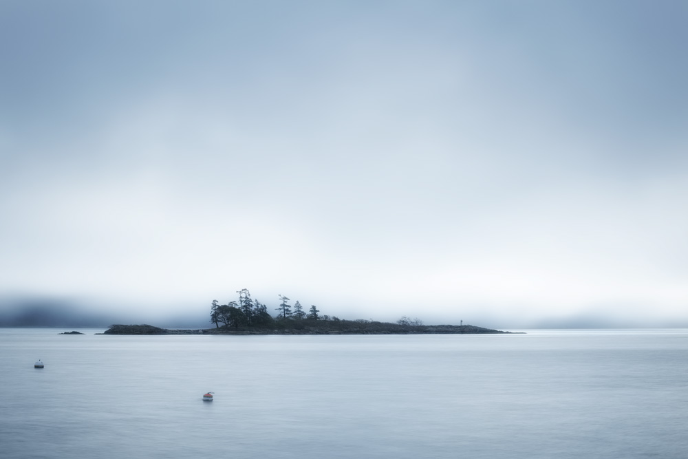 Fog off Hope Bay