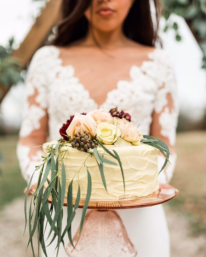C+C in Southern Bride Magazine  - Check out the latest issue of Southern Bride Magazine to see this pretty little cake by C+C & the rest of this beautiful styled shoot by Betts Made & Katie Norrid Photography! Loved being a part of this! Photo by: Katie Norrid Photography.