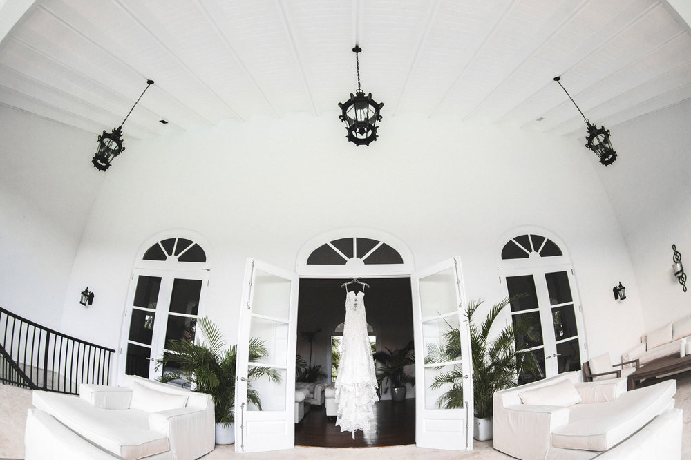 wedding dress punta cana