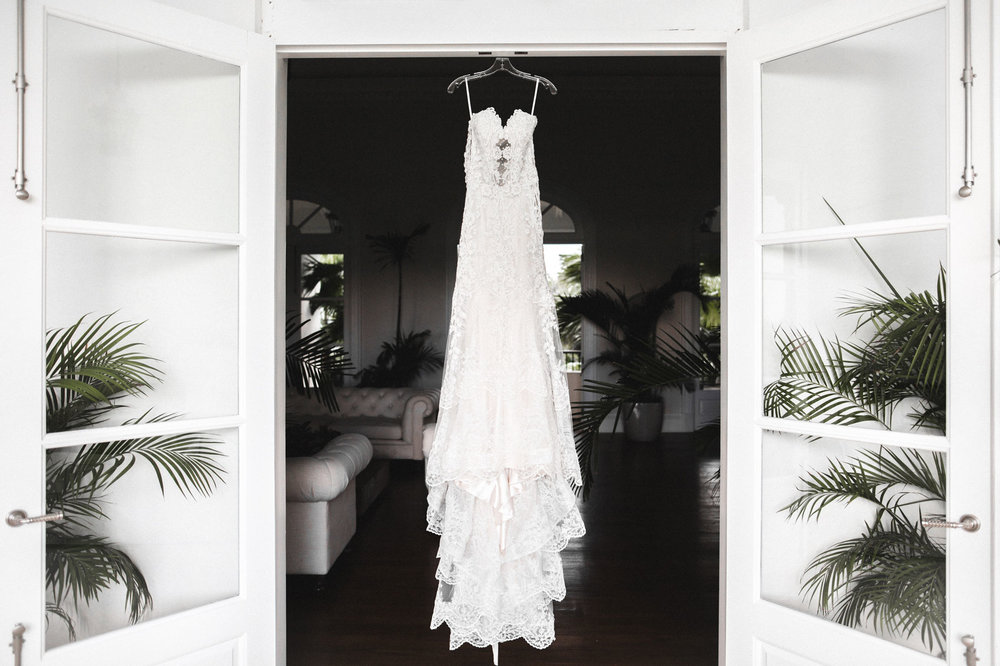 wedding dress dominican republic