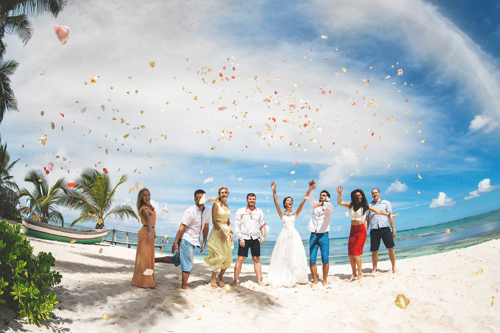 wedding photographer in dominican republic