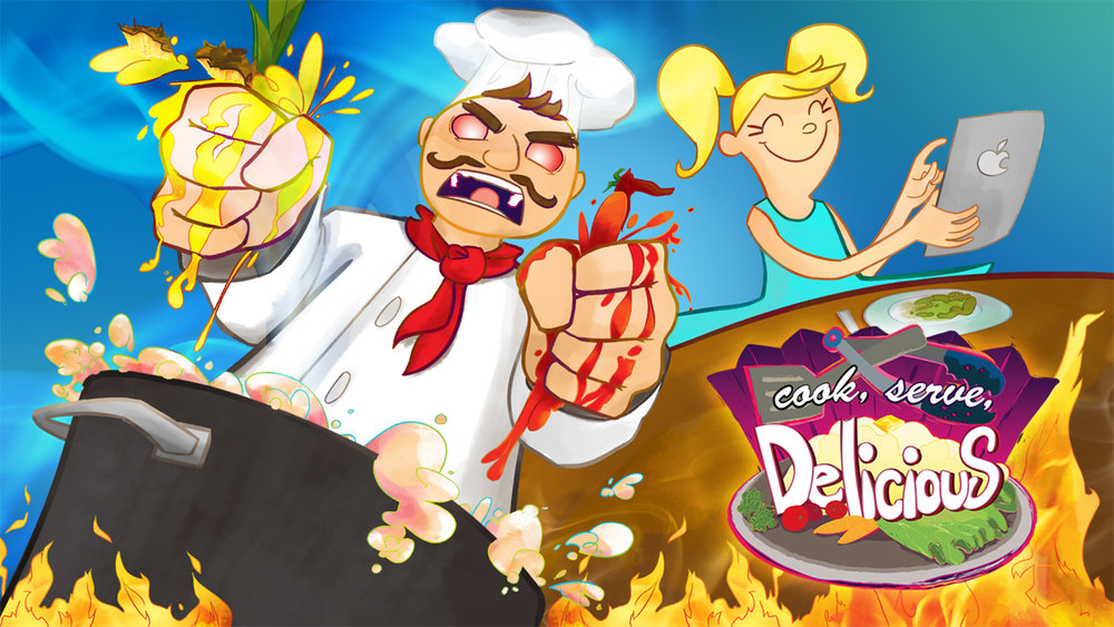 Cook, Serve, Delicious cover