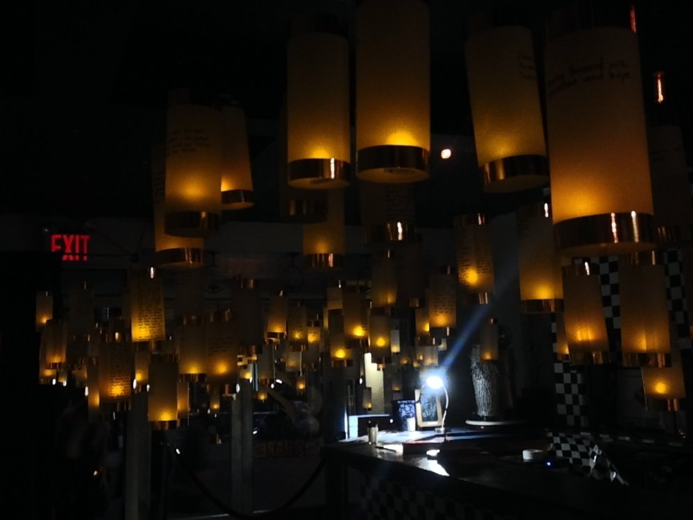 Lanterns for Peace at 3-Squared Gallery