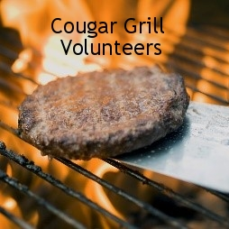 Cougar Grill Volunteers