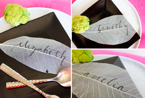 place card diy