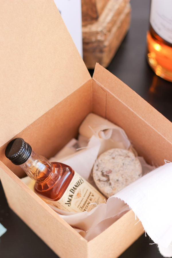 whiskey party favor