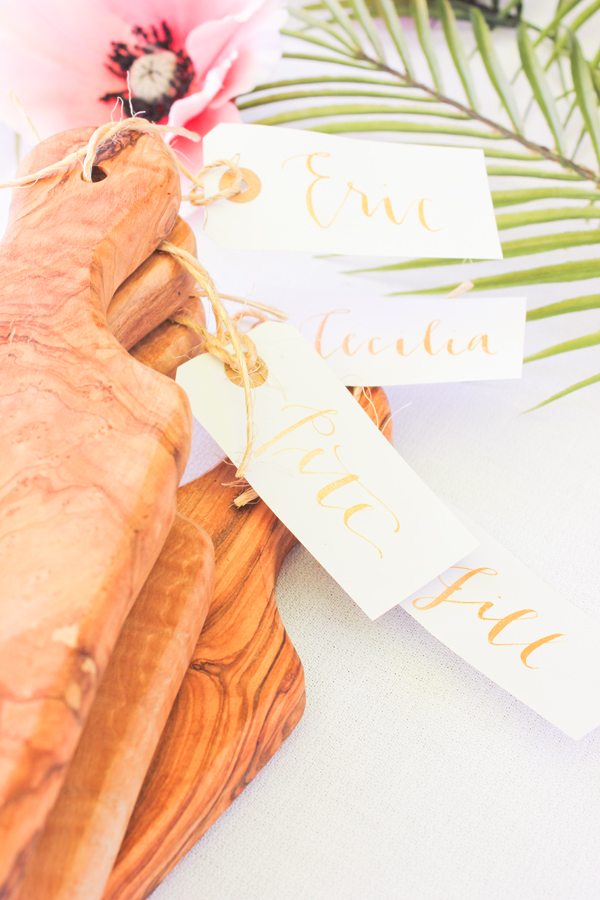 place card favors
