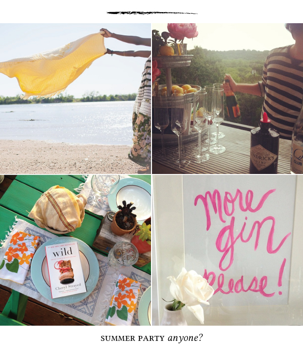 summer party inspiration
