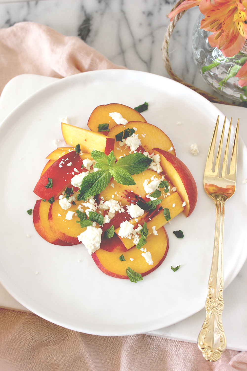 peach-and-mint-summer-salad