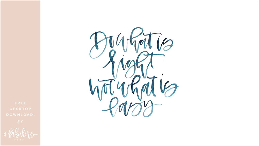 Free Calligraphy Download