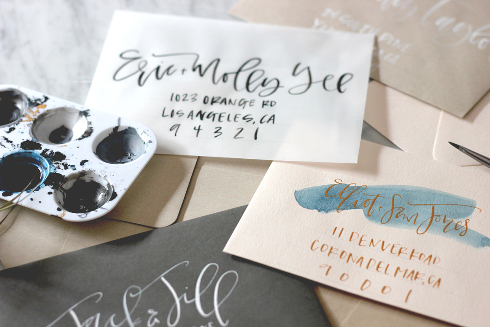 How to Address an Envelope | A Fabulous Fete