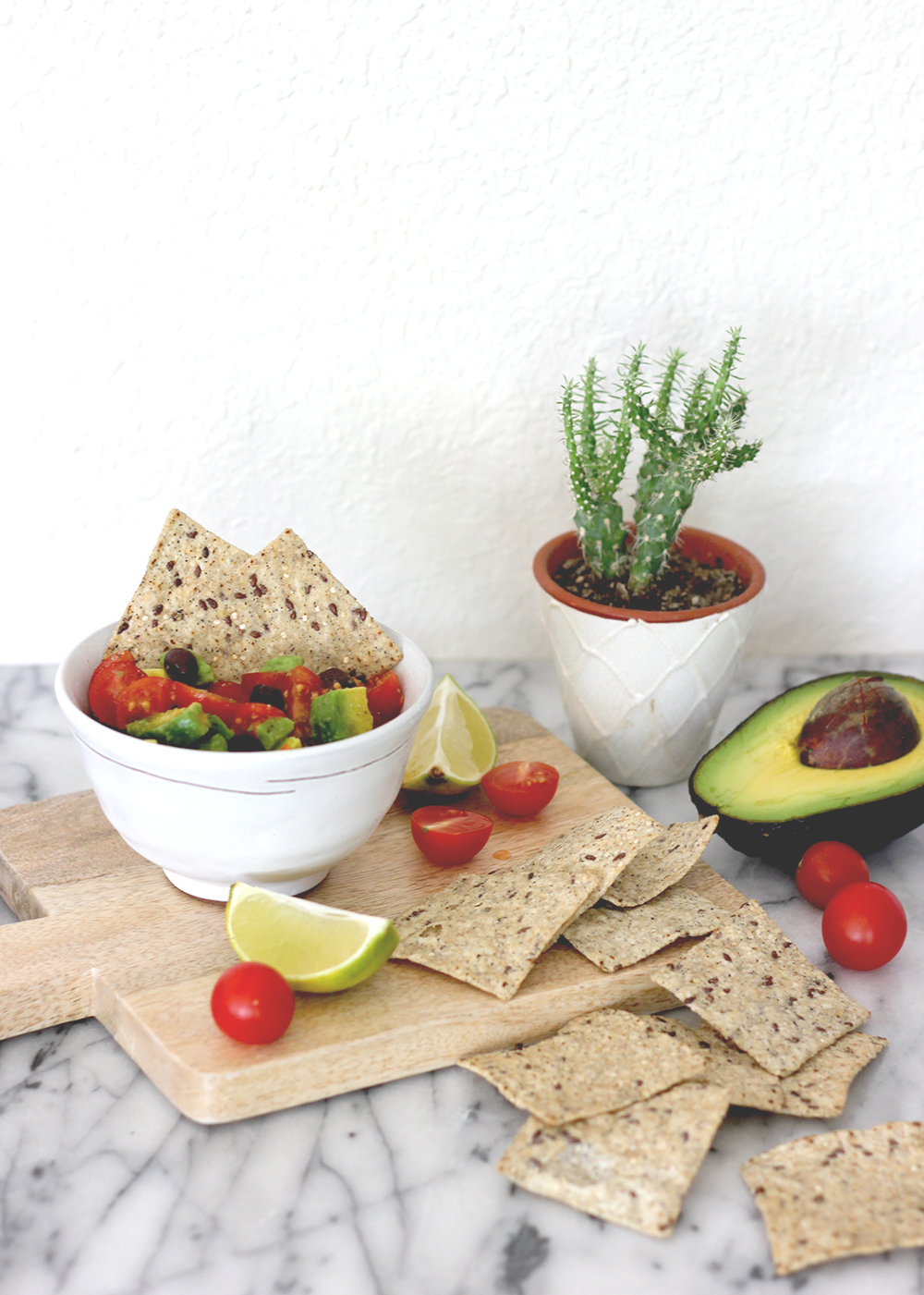 Healthy 4 Ingredient Avocado Dip | A Fabulous Fete