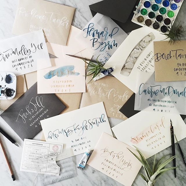 Calligraphy Wedding Envelope Examples.jpg
