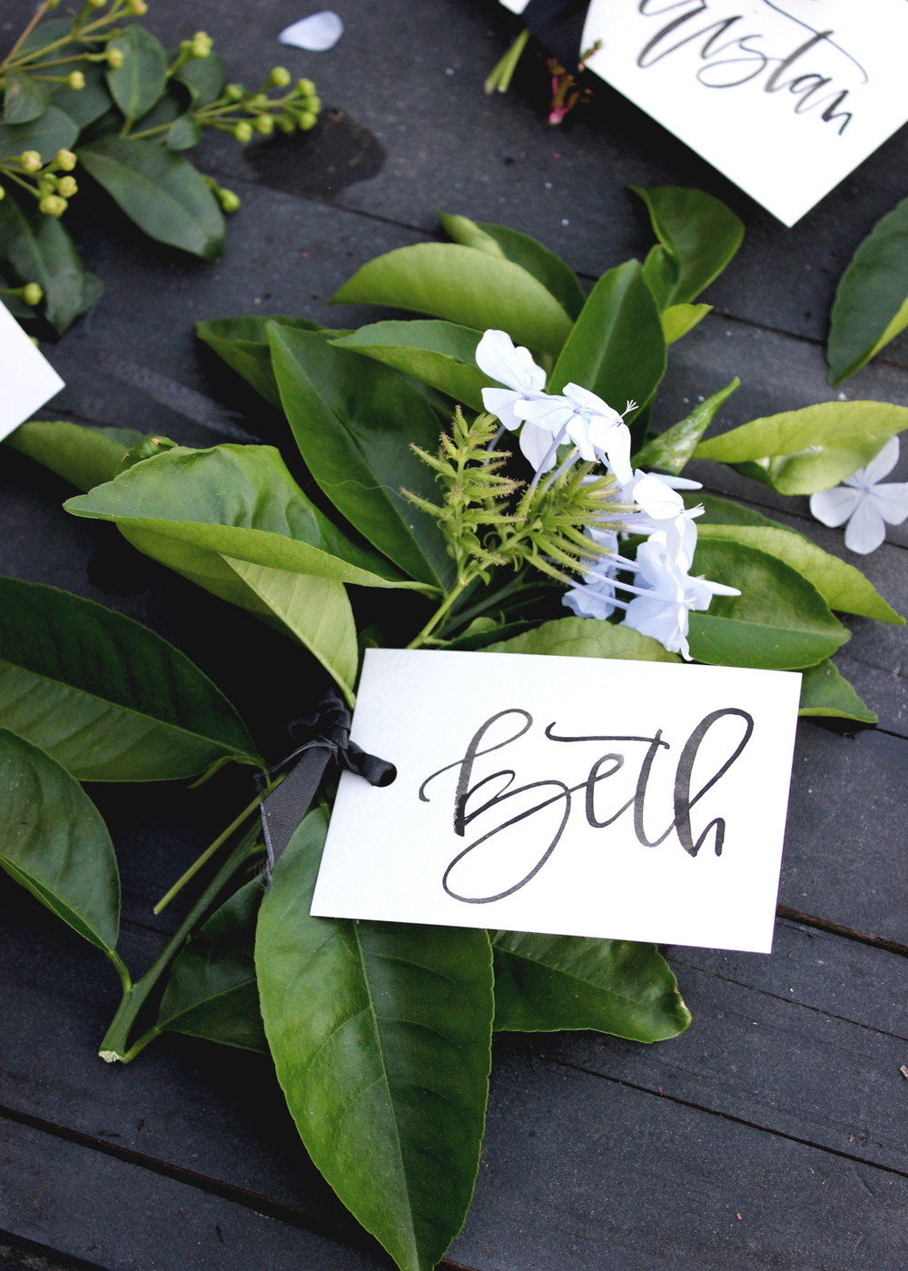 How to make free place cards | A Fabulous Fete