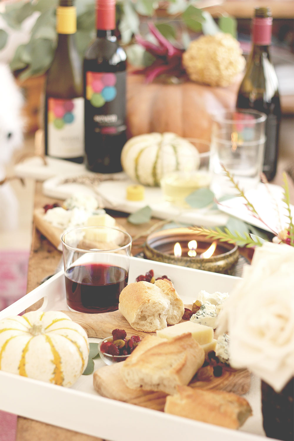Fall Wine and Cheese Party | A Fabulous Fete
