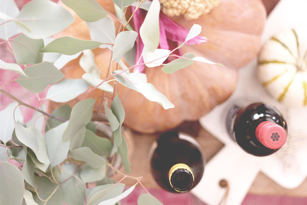 Simple Eucalyptus as table decor | A Fabulous Fete