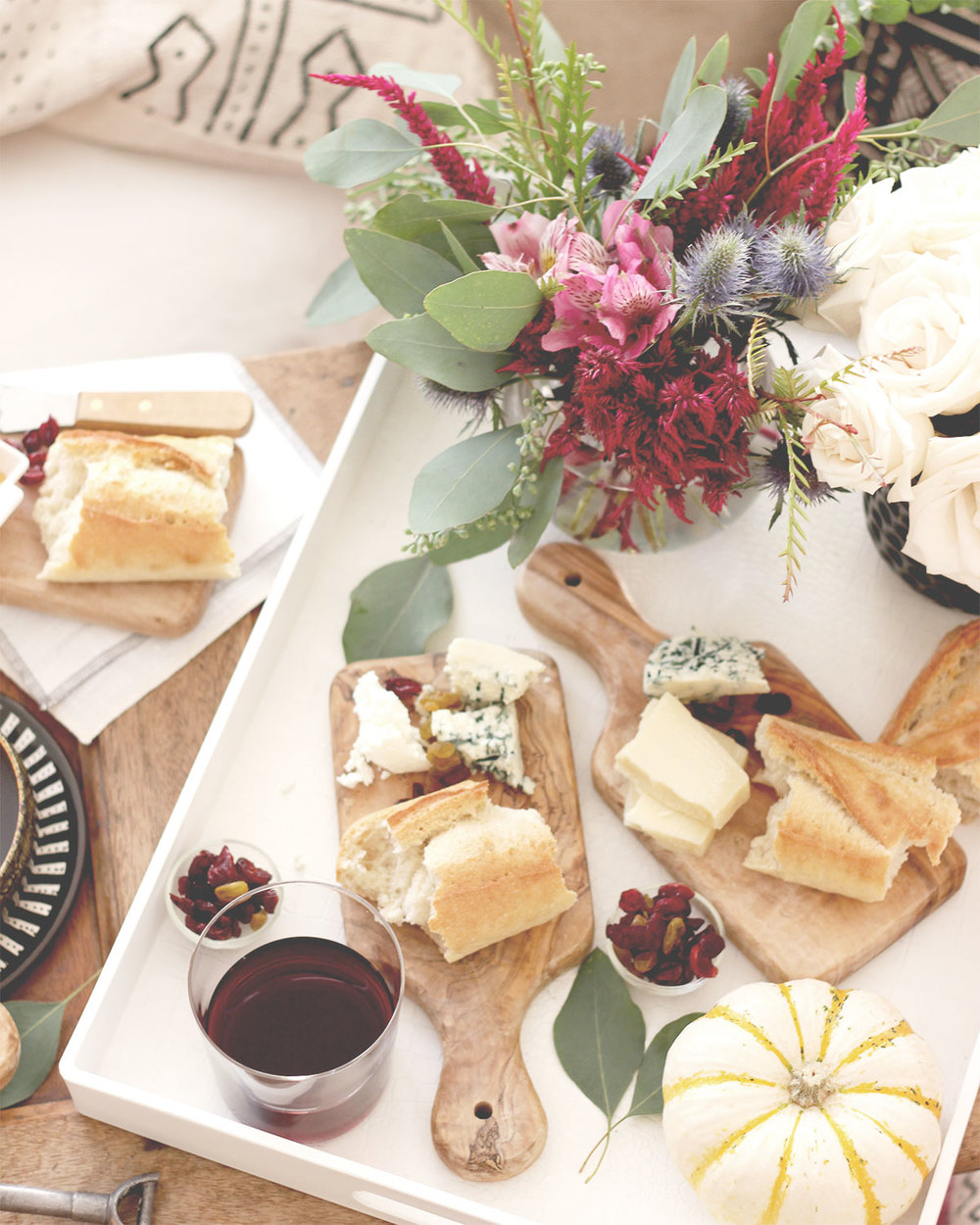 Cozy indoor entertaining for fall | A Fabulous Fete