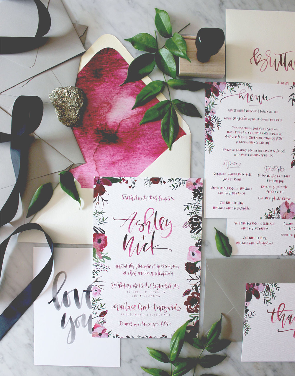 Watercolor Wedding Paper | A Fabulous Fete