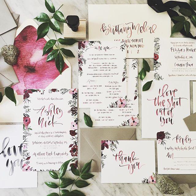 Moody Floral Suite | A Fabulous Fete