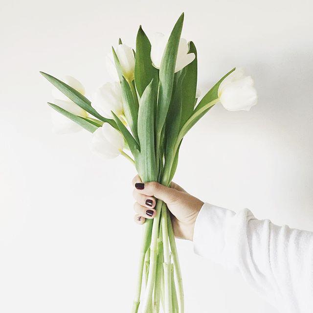 White tulips | A Fabulous Fete