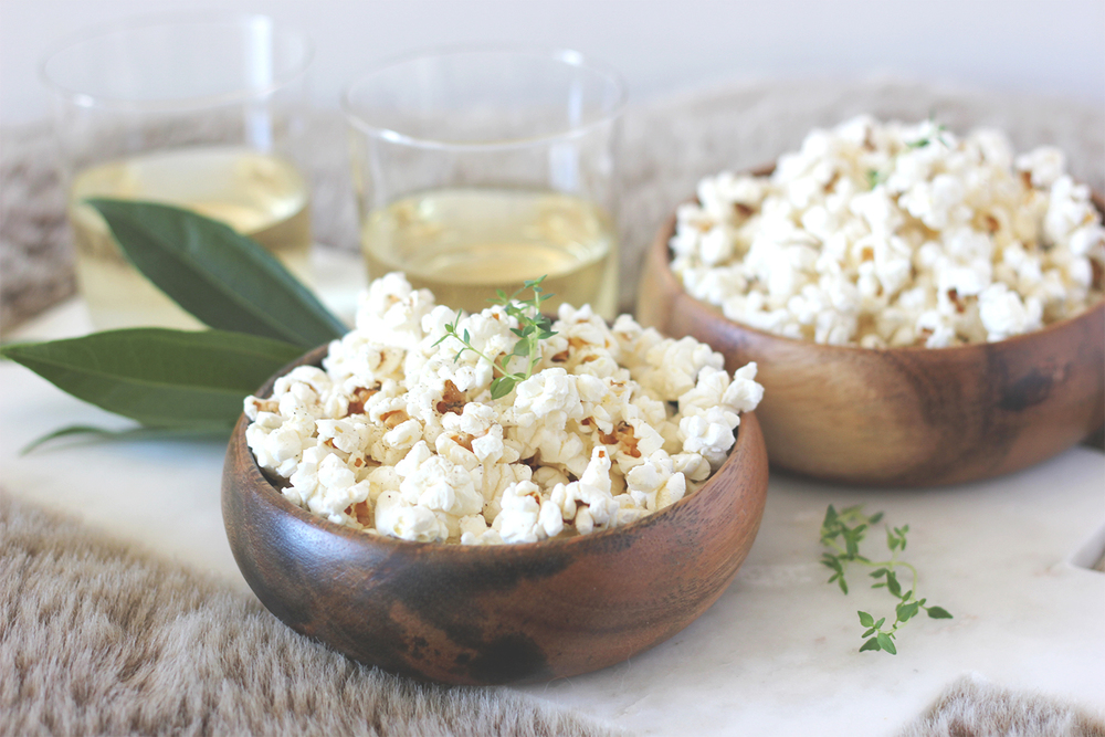 Popcorn + Wine Happy Hour | A Fabulous Fete